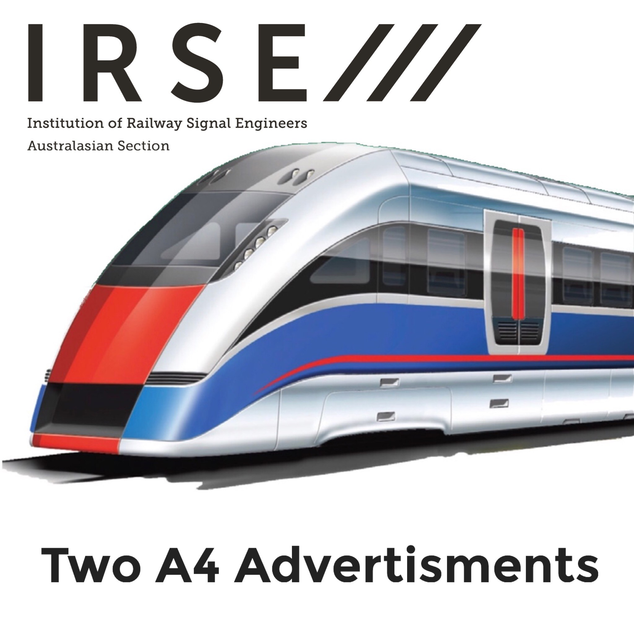 Two A4 advertisement