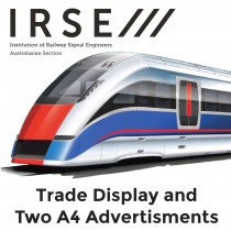 Trade display and Two A4 advertisements